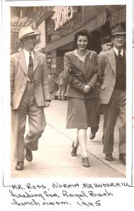 1945 Norma:mr.Ross,Underhill